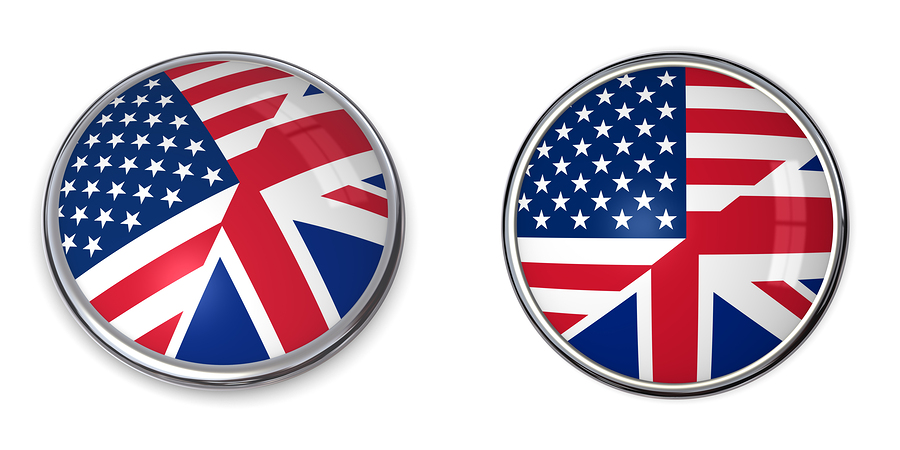 Banner Button United States, United Kingdom