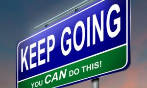 entrepreneurial resilience, keep going